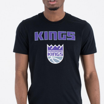New Era NBA Sacramento Kings Team Logo T-Shirt ''Black''