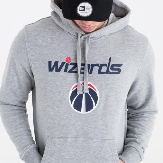 New Era NBA Washington Wizards Team Logo Hoodie ''Grey''