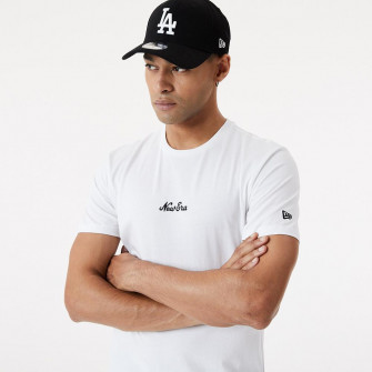 New Era Essential Script T-Shirt ''White''
