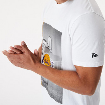 New Era NBA LA Lakers Photographic T-Shirt ''White''