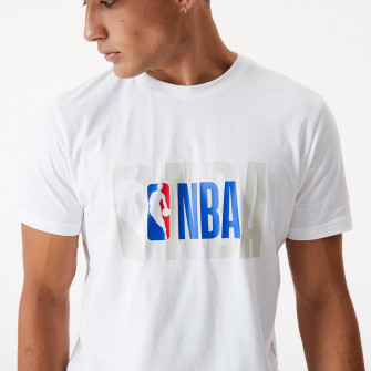 New Era NBA Logo T-Shirt ''White''