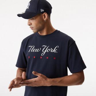 New Era MLB NY Yankees Heritage Oversized T-Shirt ''Navy''
