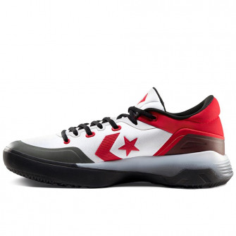 Converse G4 Low Top ''White/University Red/Black''