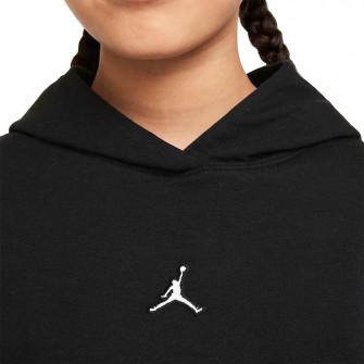 Air Jordan Essentials Fleece Girls Hoodie ''Black''