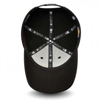 New Era NBA LA Lakers Pop Logo 9Forty Snap Cap ''Black''