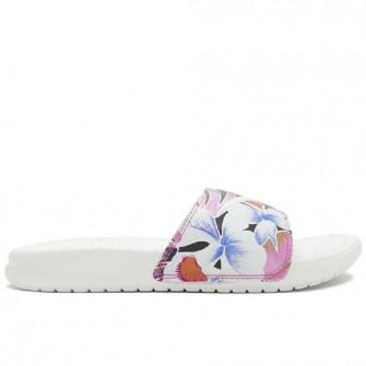 Nike Benassi Just Do It. Floral ''White''
