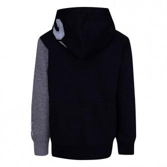 Air Jordan Speckle Fleece Kids Hoodie ''Black/Grey''