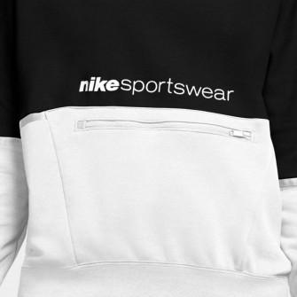 Nike Sportswear Archive Remix WMNS Hoodie ''Black/White''