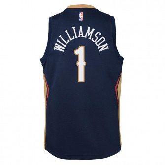 Nike Zion Williamson New Orleans Pelicans Icon Edition Swingman Jersey ''College Navy''
