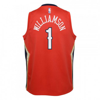 Nike NBA New Orleans Pelicans Zion Statement Edition Kids Jersey ''Red''
