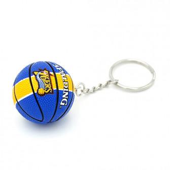 NBA Philadelphia 76ers Basketball Keychain ''Blue/Yellow''
