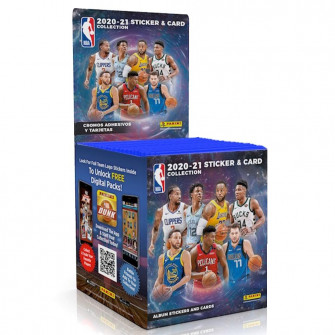 Panini NBA Sticker & Card 2020-21 Collection Single Stickers Pack