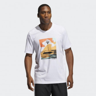 adidas Slept On Graphic T-Shirt ''White''
