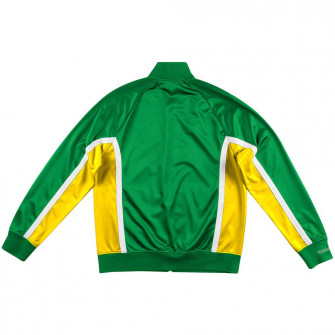 M&N Championship Game Seattle Supersonics Track Jacket ''Green''